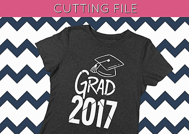 Grad 2017 SVG Cutting File