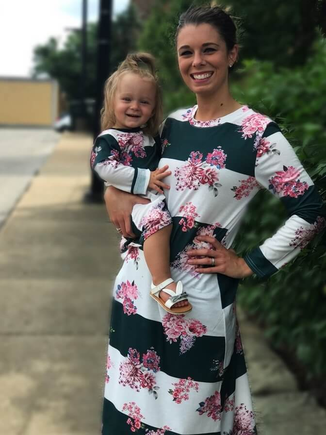 Mom and Me Floral Dress