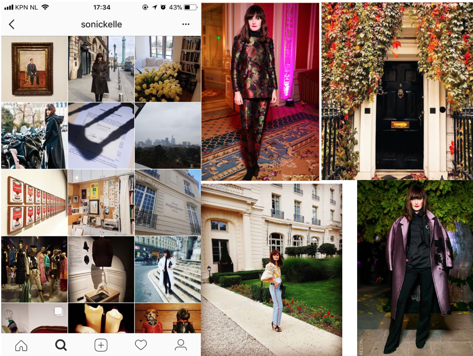 ukraine fashion Instagram account sonickelle
