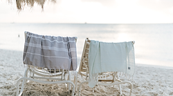 Turkish towels beach