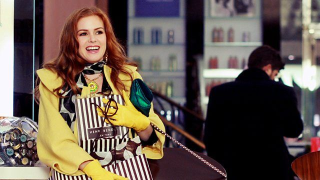 Isla Fisher looking picture perfect in Confessions of a Shopaholic film (2009)