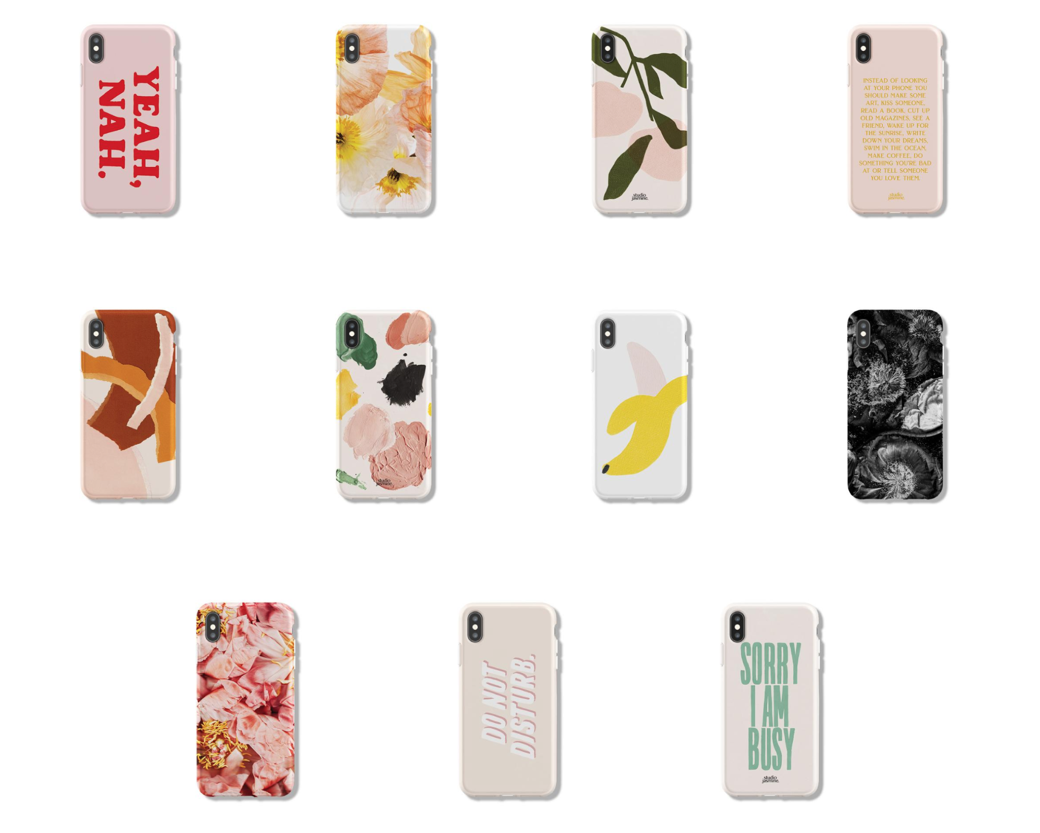 JASMINE DOWLING PHONE CASE COLLECTION