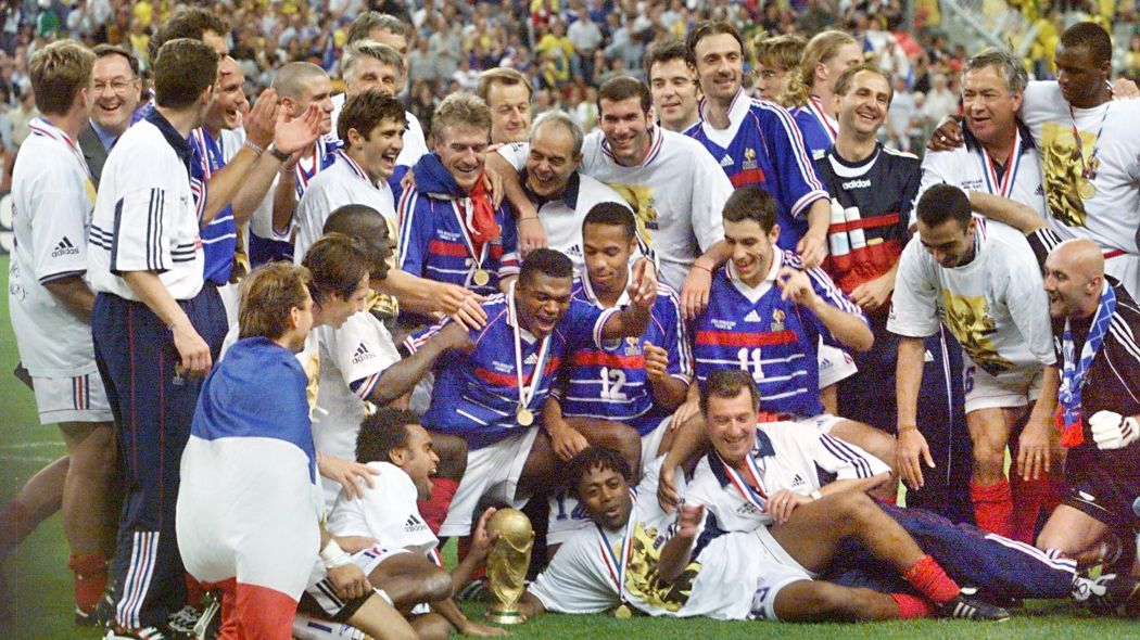 Maillots de légende - France 98
