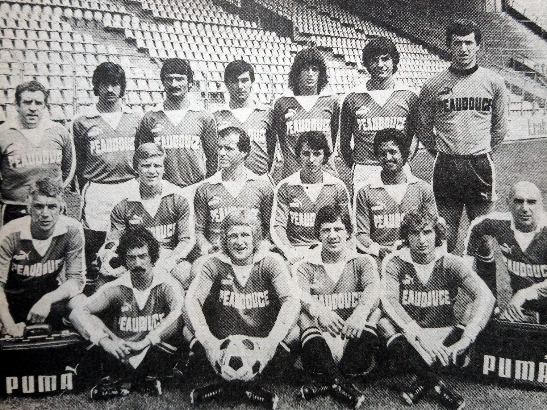 Le maillot Peaudouce LOSC 1979 un maillot classic du football !