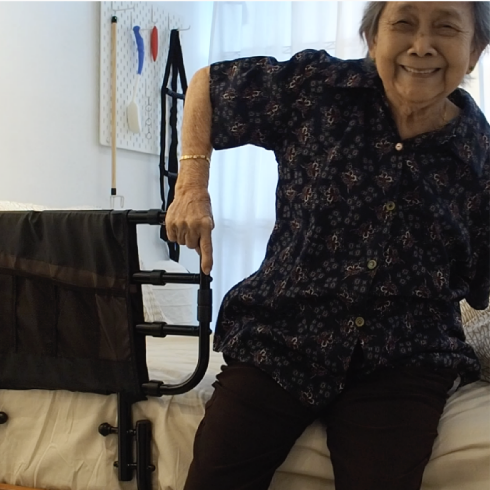 Elderly Bed Safety Rail for Fall Prevention
