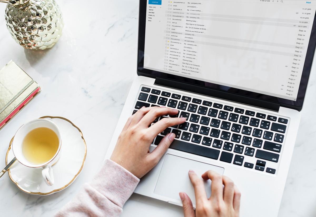 setting up a custom domain e-mail