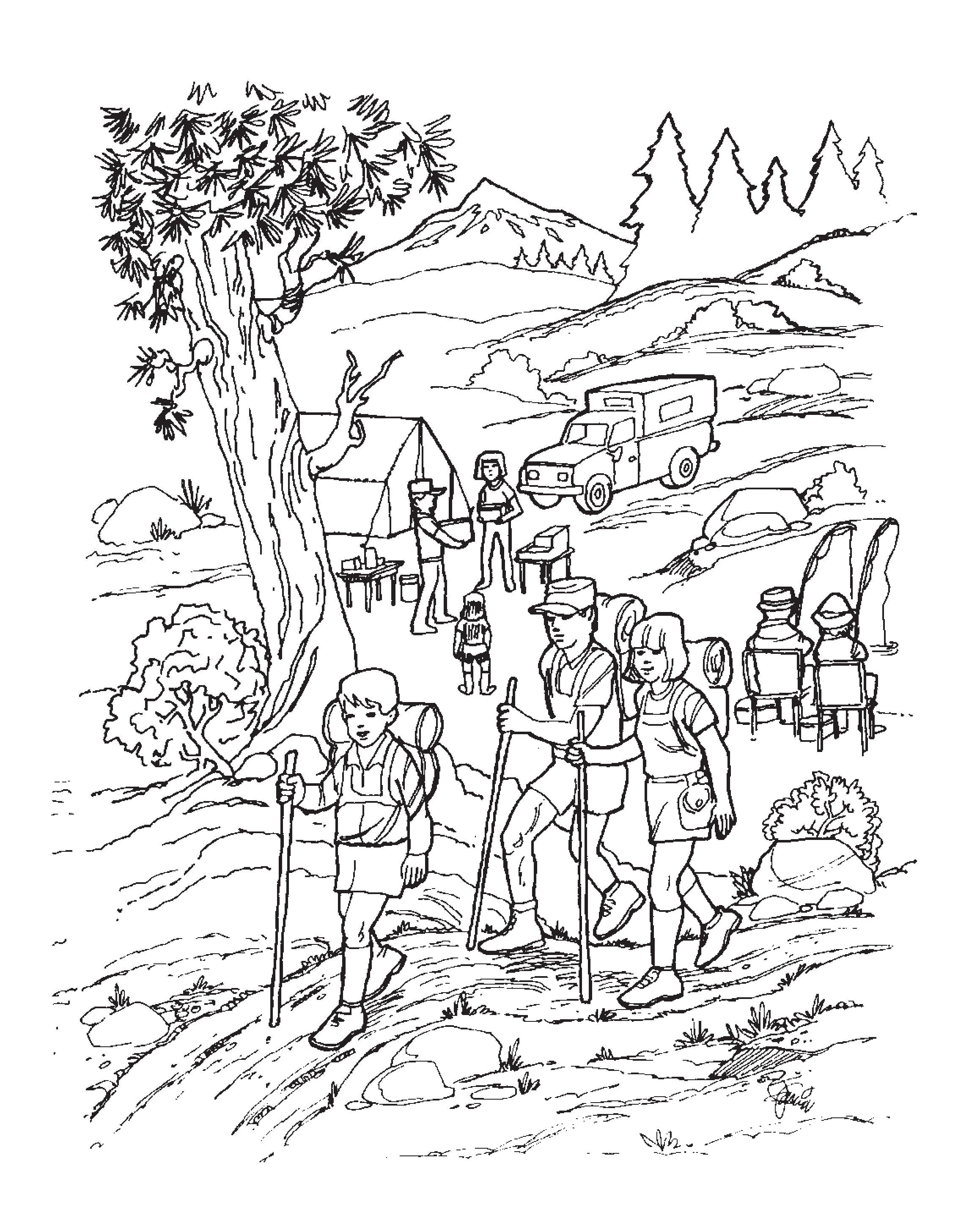 Smokey Bear Coloring Pages The Landmark Project