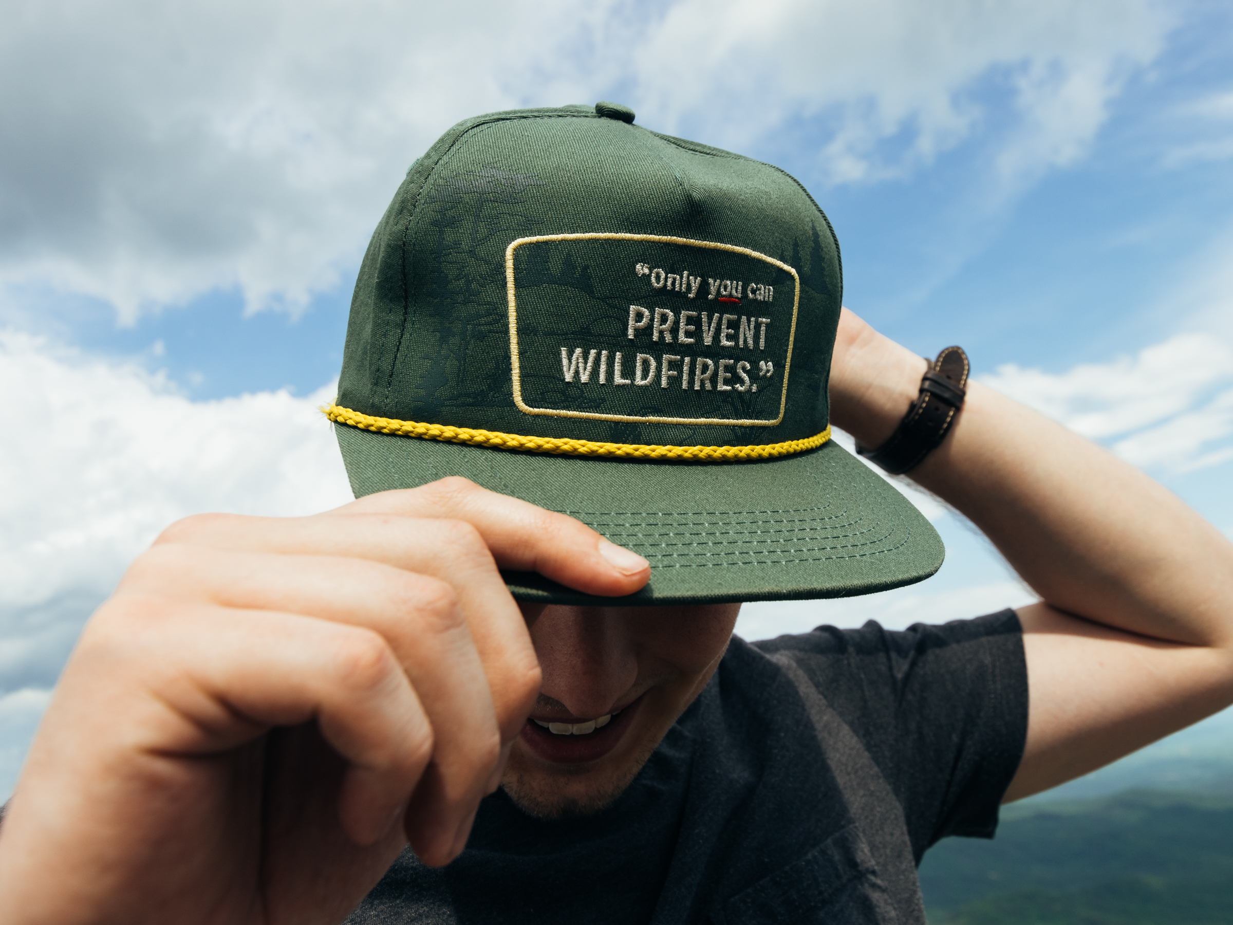 Prevent Wildfires Hat