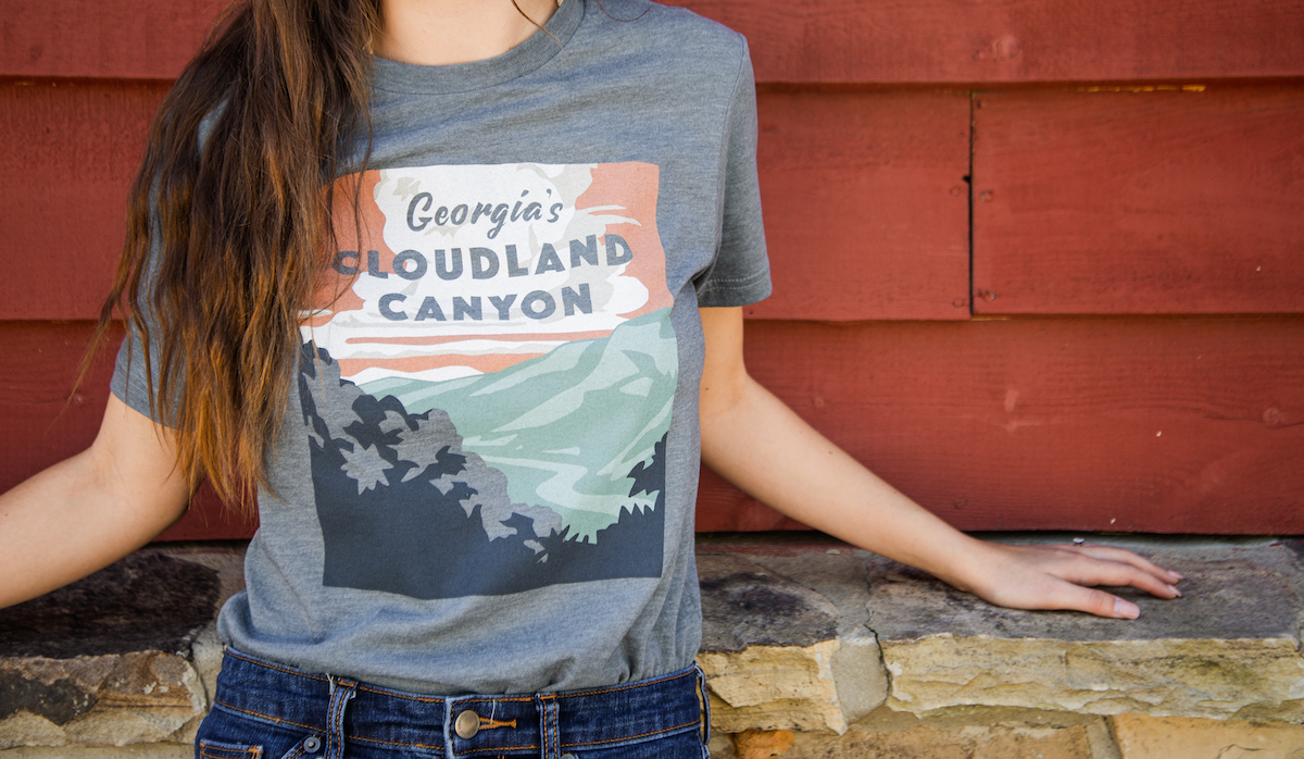 Cloudland Canyon Tee