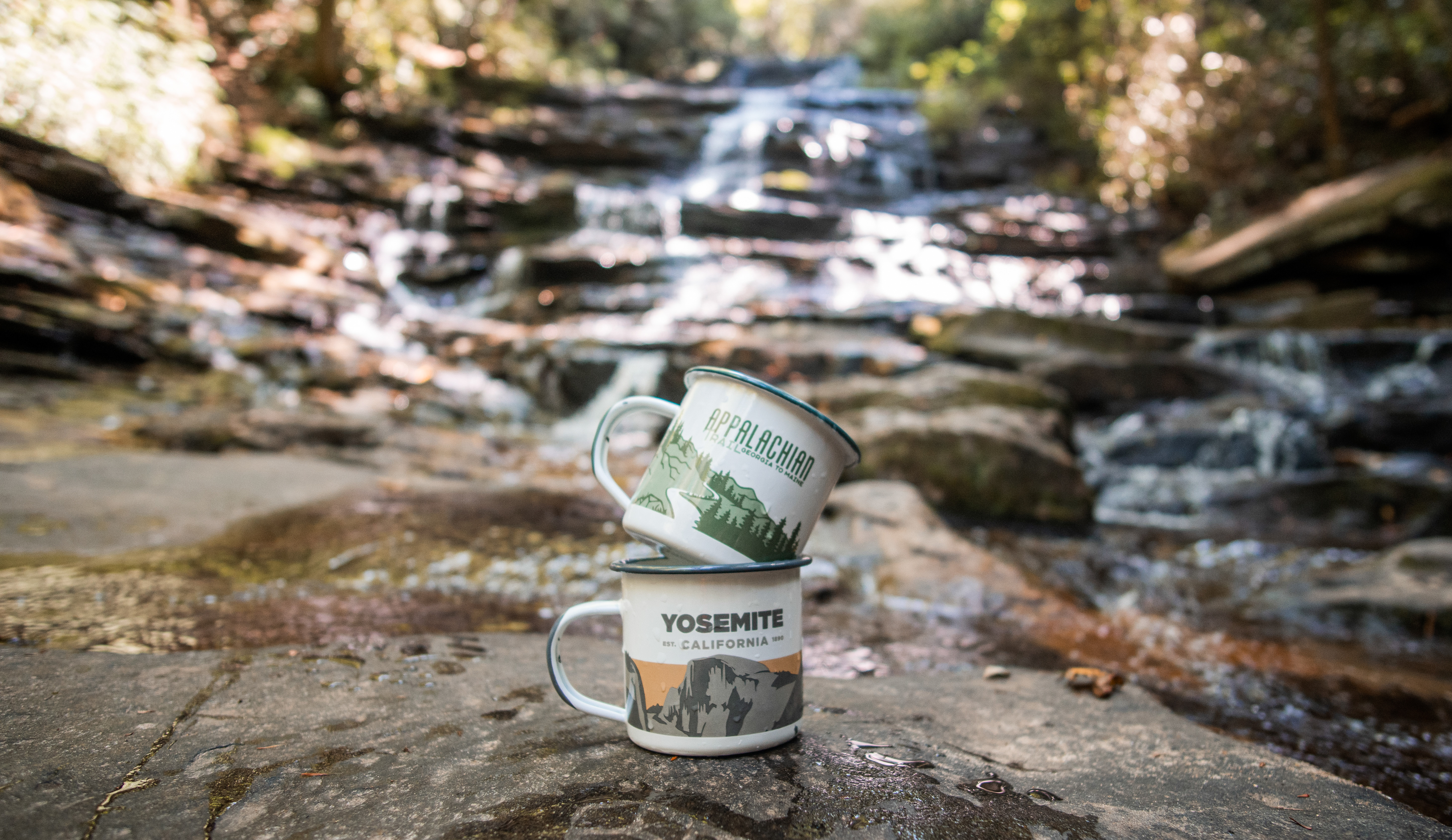 Yosemite Enamel Mug