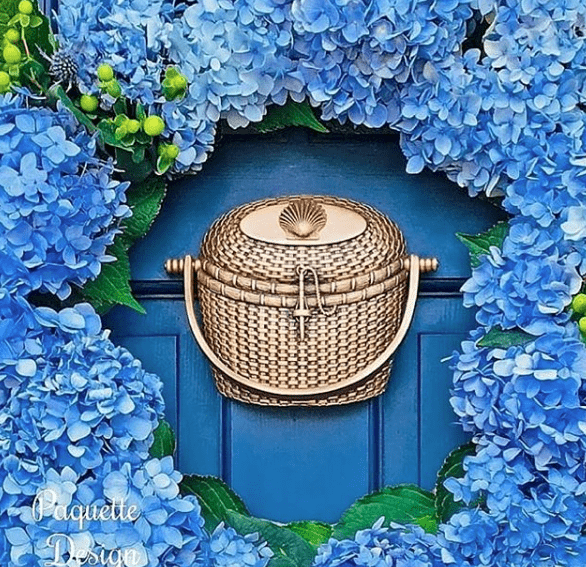 Nantucket Basket Door Knocker