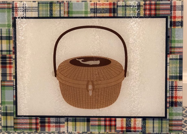 Nantucket basket cutting board
