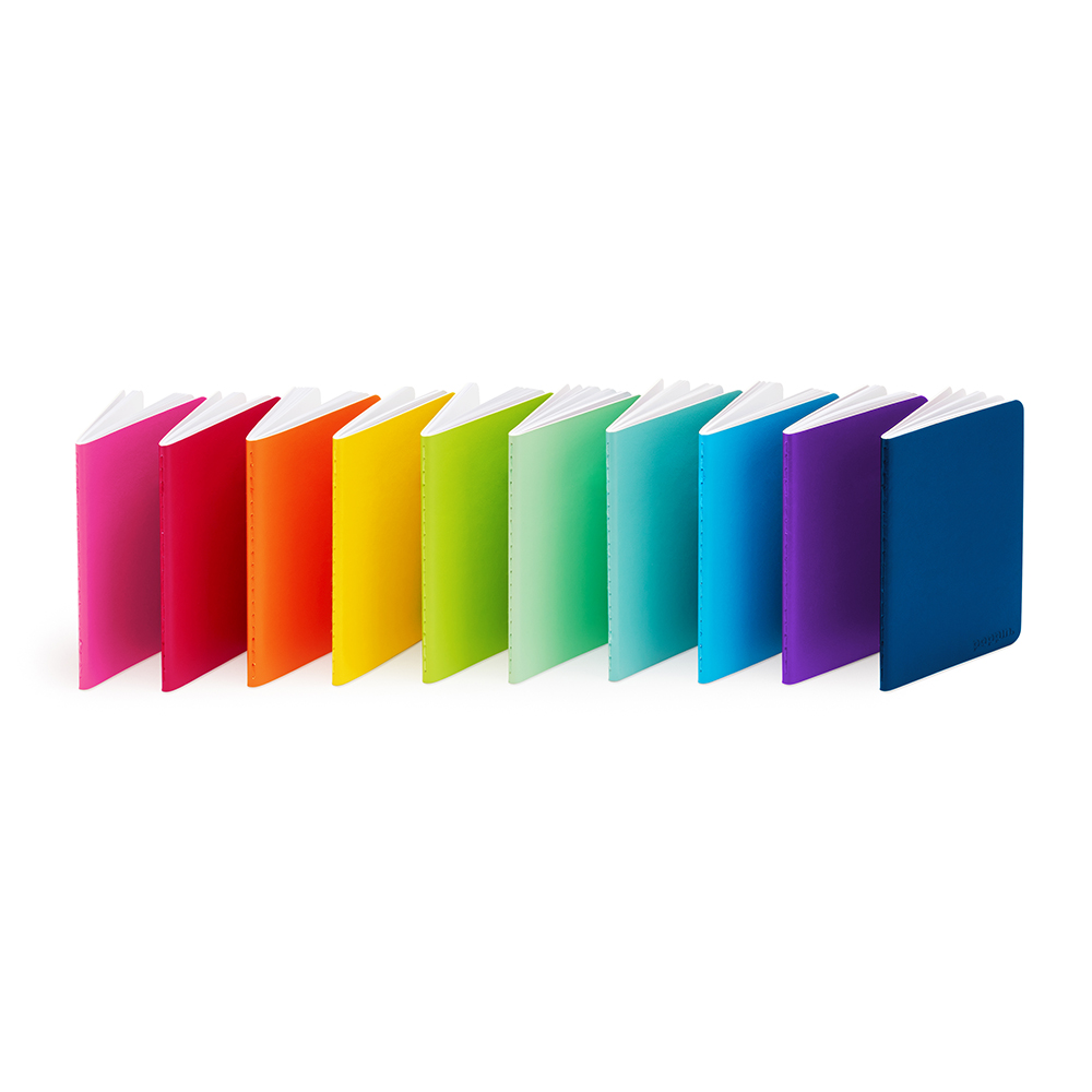 Poppin Rainbow Notebooks