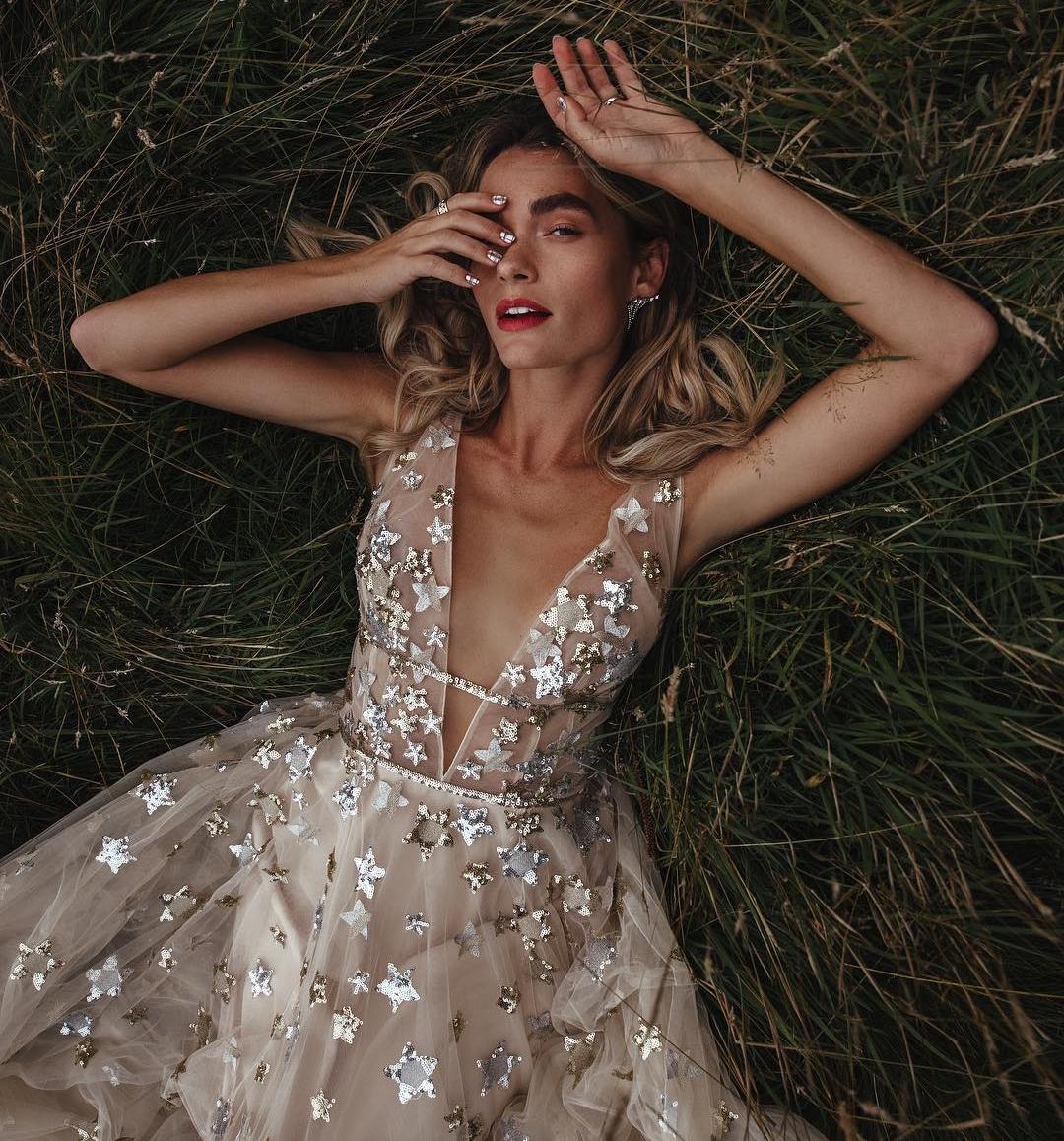 Lovely Bride Star Dress