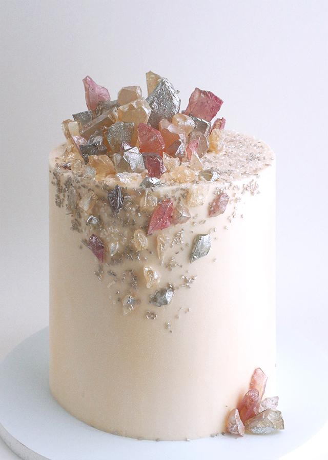 Crystal Fleck Cake