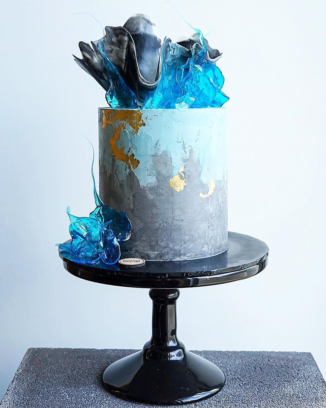 Blue Water Sugar Cake