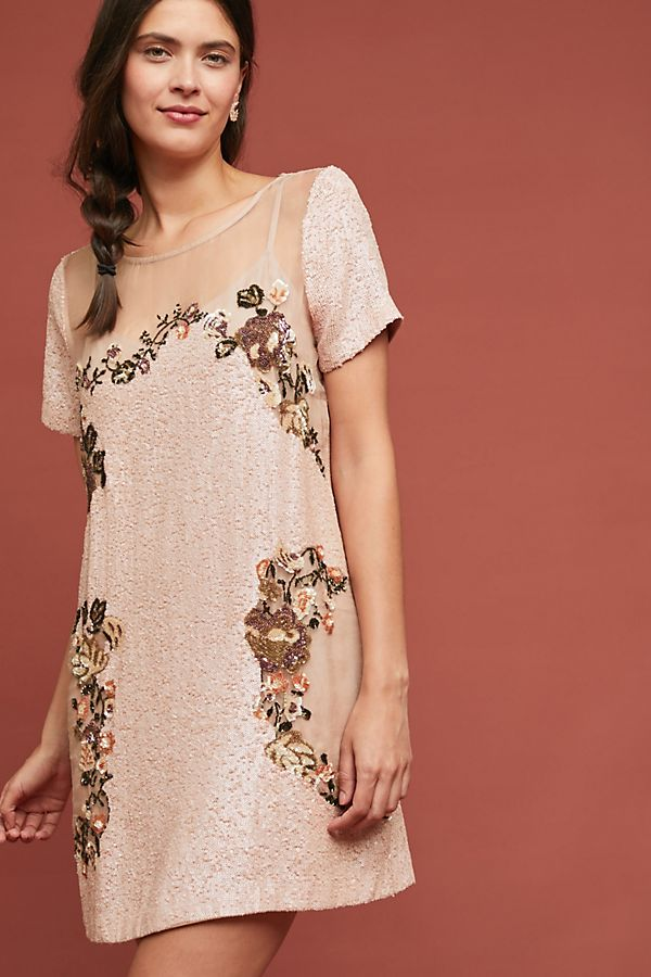 Anthropologie Sequin Dress