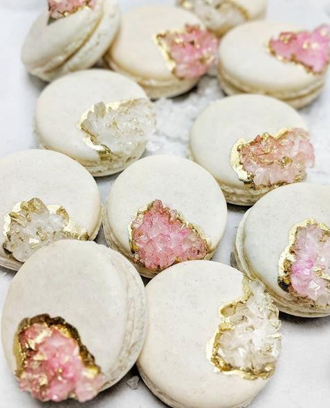 6 Sweetest Dessert Trends for 2019 Macarons Metallics
