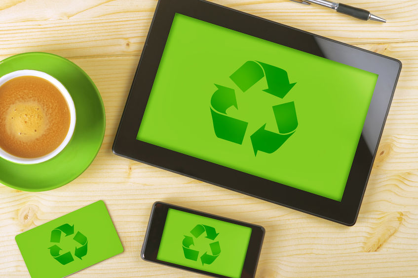Recycling methods for businesses in the UK