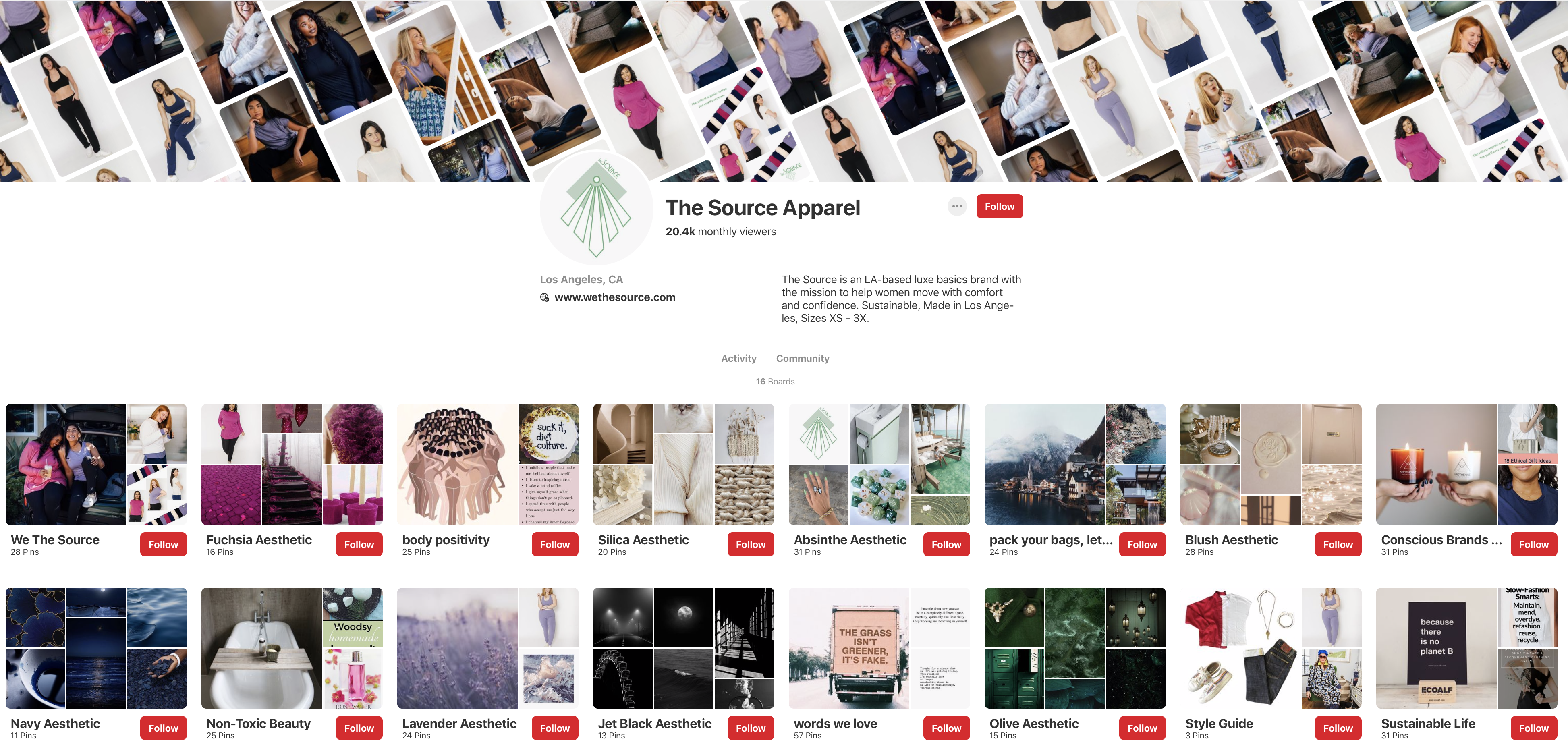 The Source is on Pinterest! Follow Us!