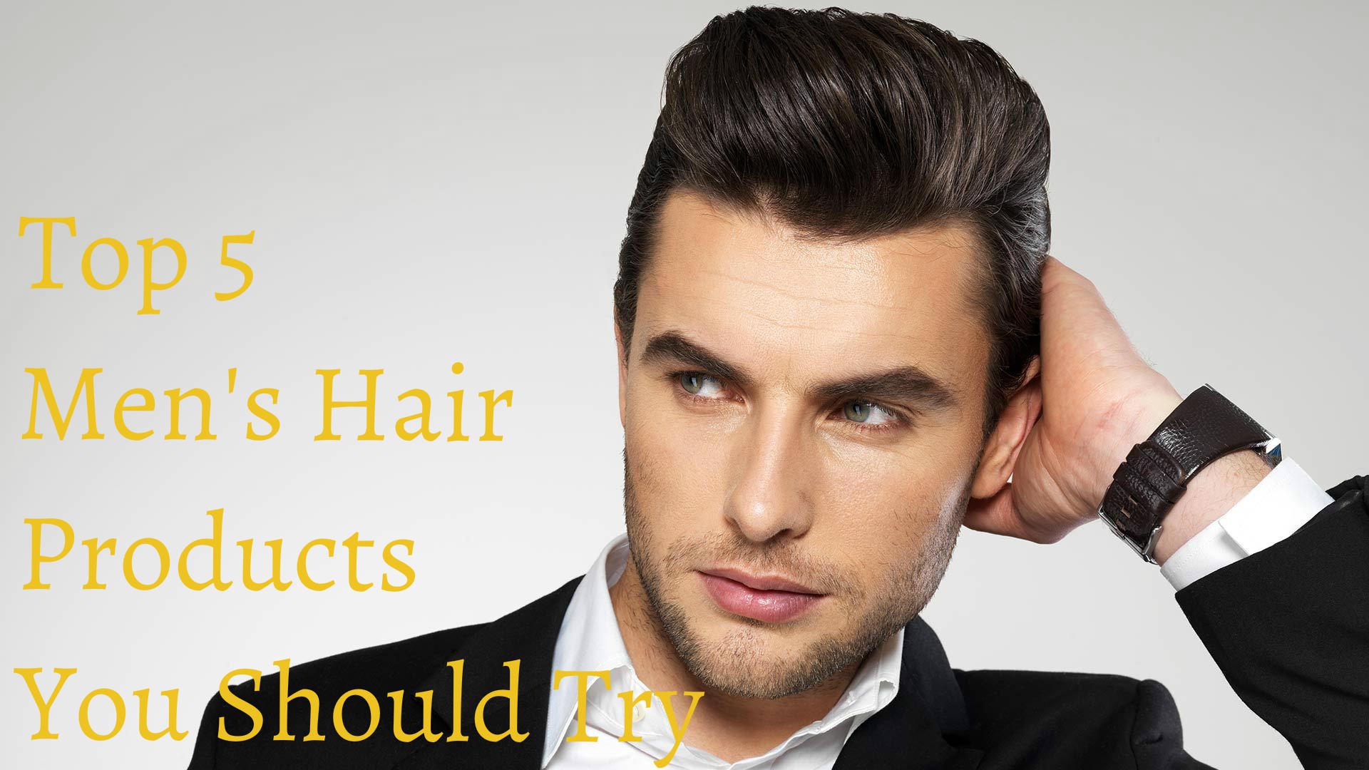 Top 5 Men\'s Hair Products You Should Try - The Emporium Barber
