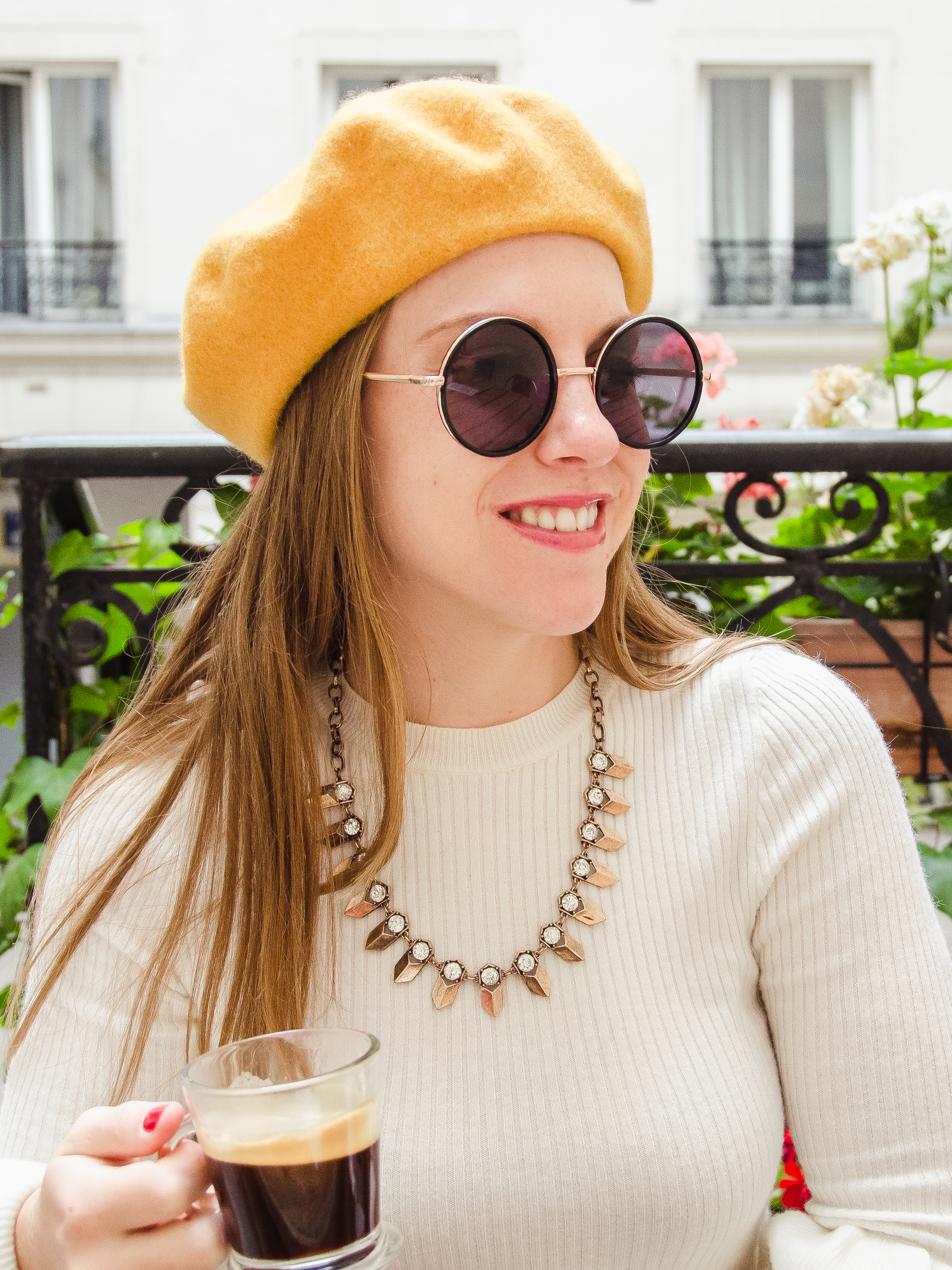 Parisian Cafe Style | What to Wear in Paris