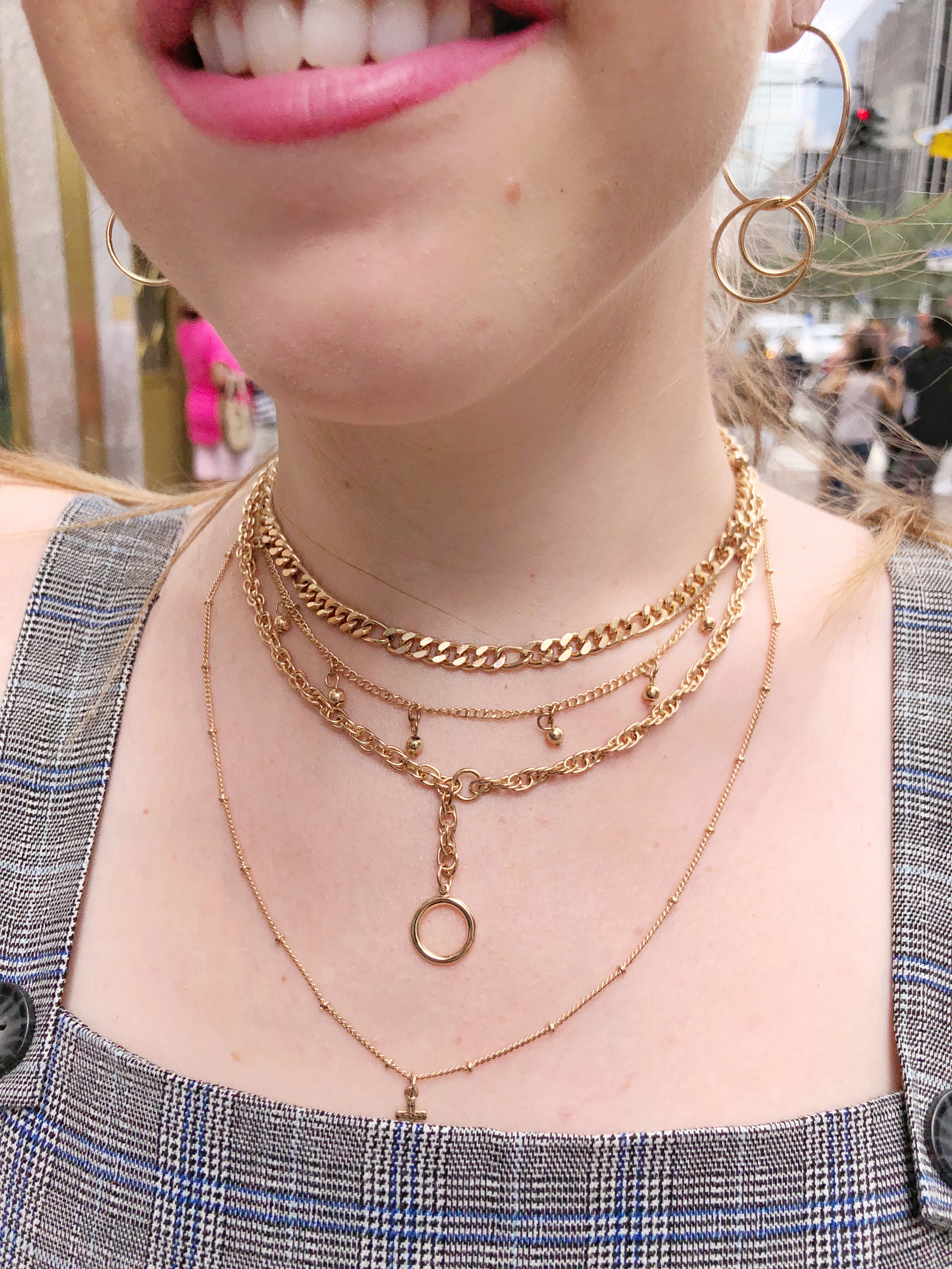 Layered Necklace NYC City Chic