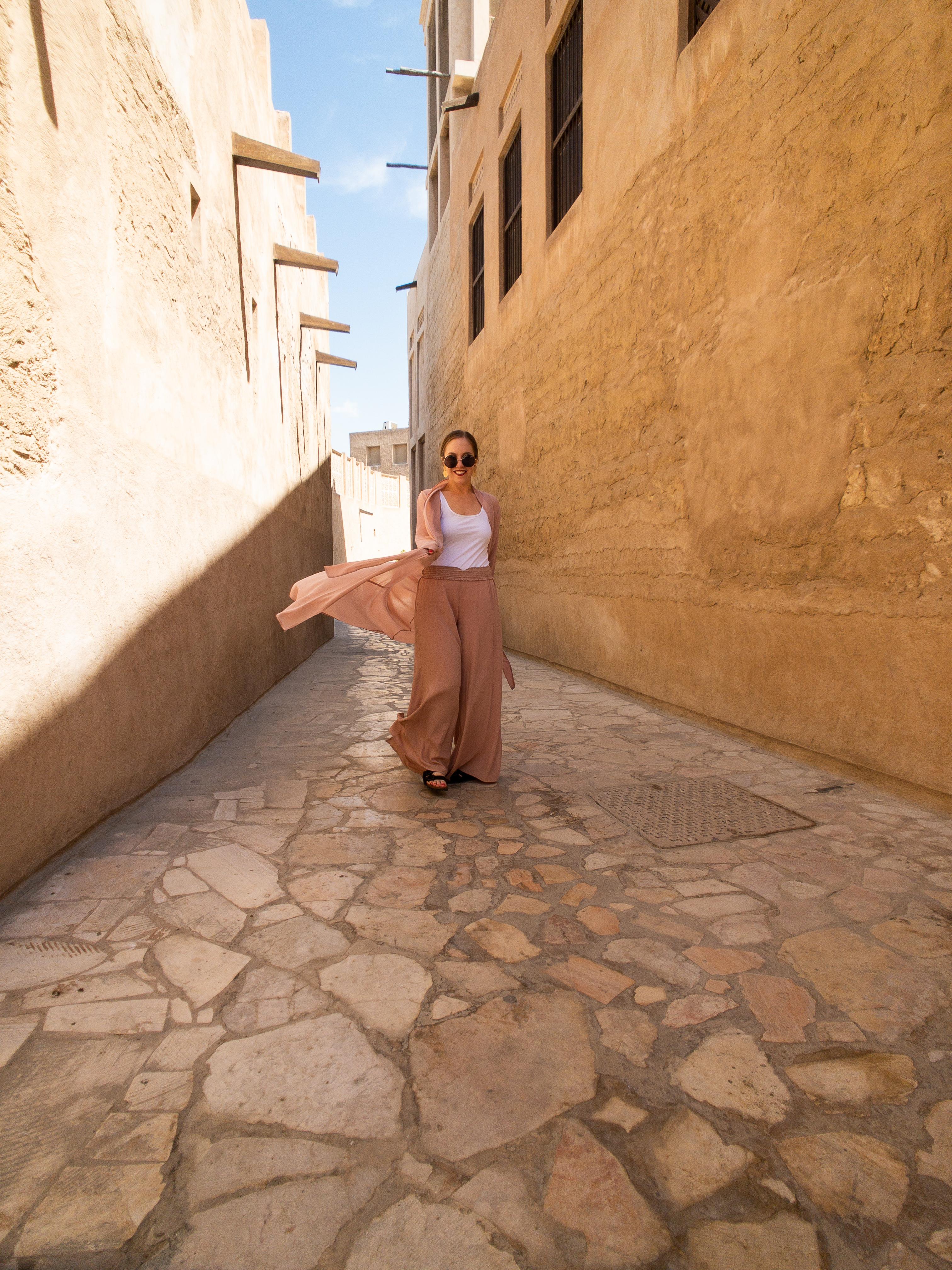 Dubai Old Town Al Fahidi Historic District | What to Wear in Dubai