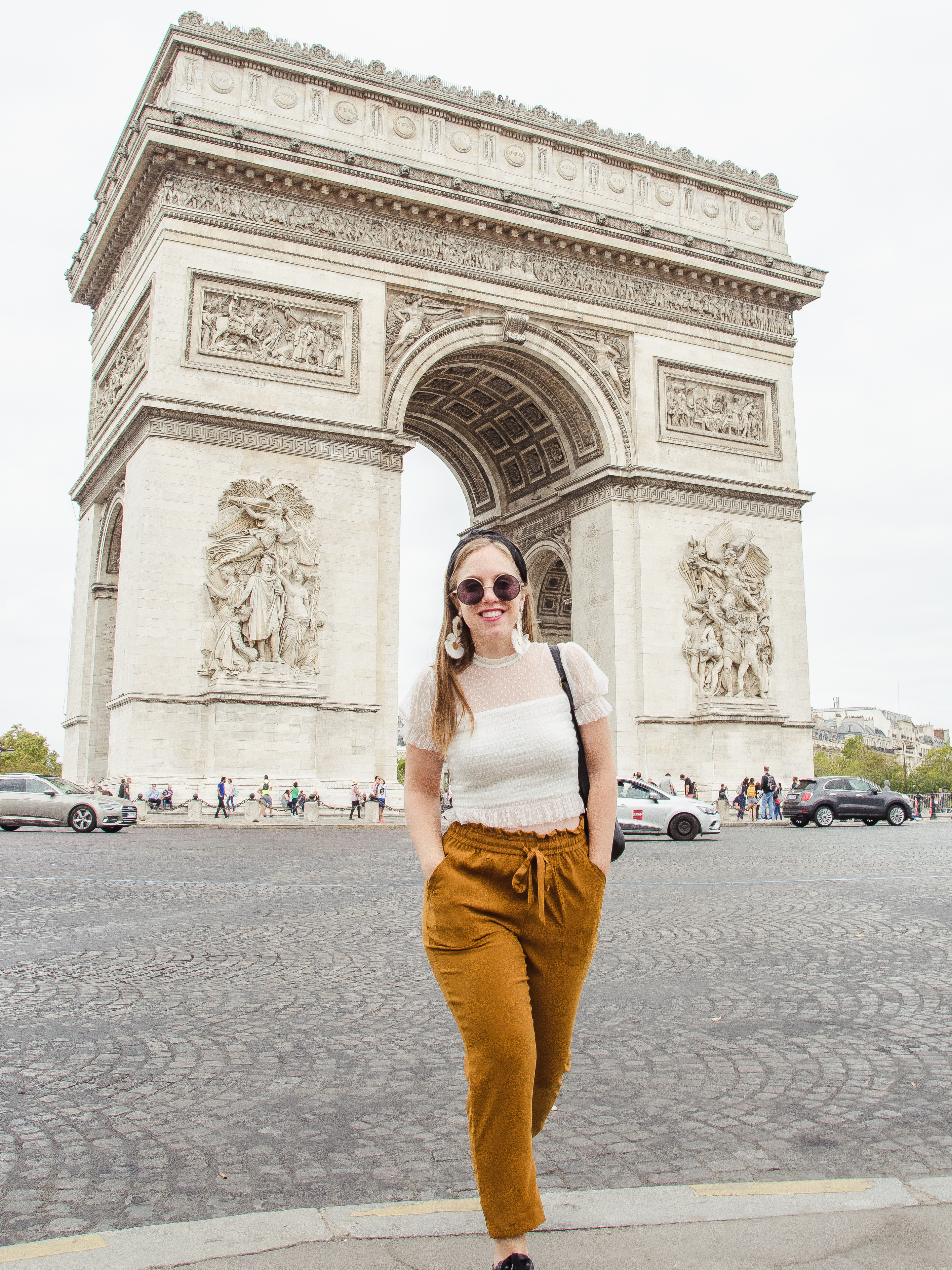 Arc De Triomphe Paris France I What to Wear to Paris