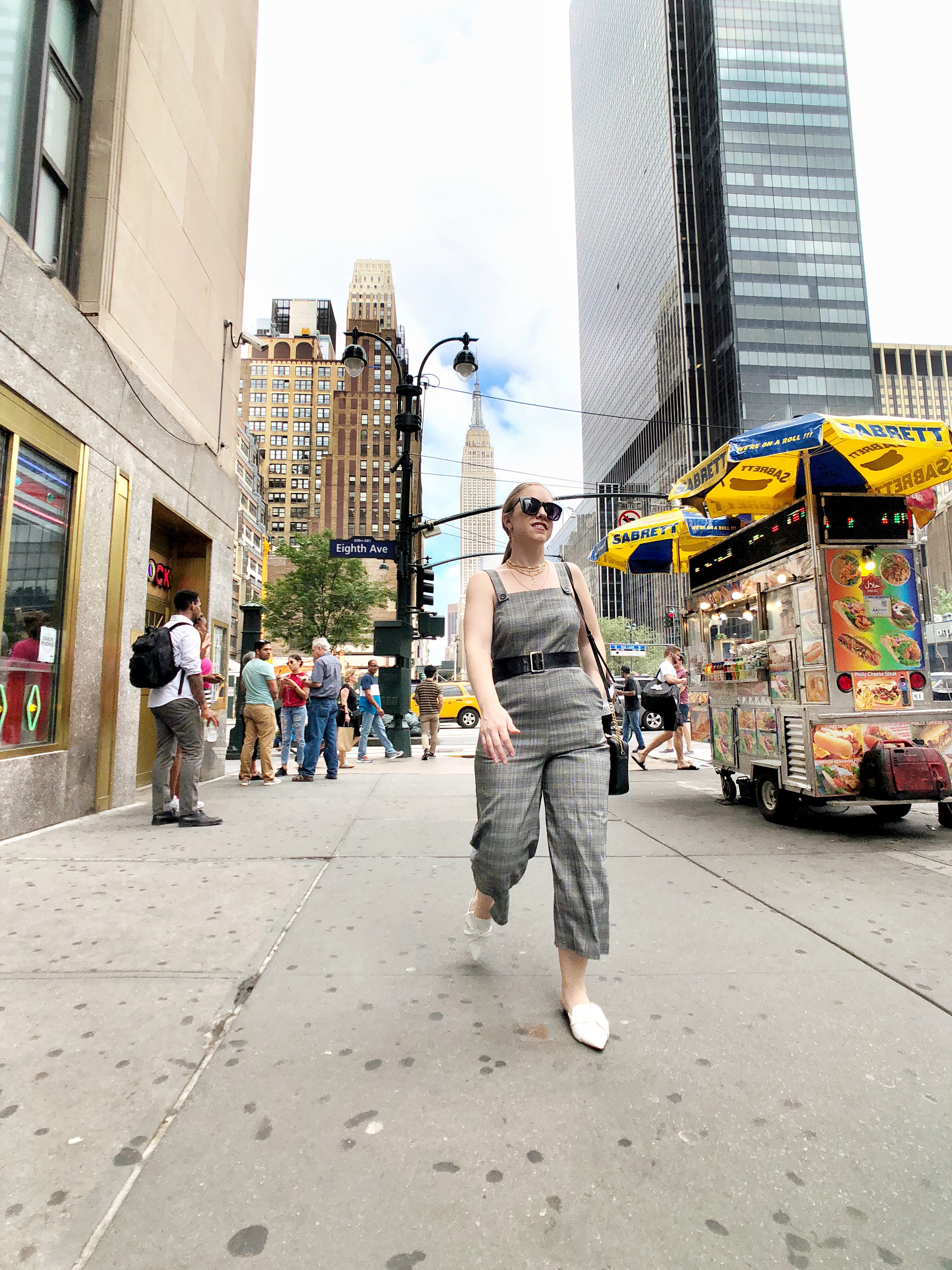 Multi Layered Necklace Choker NYC City Chic