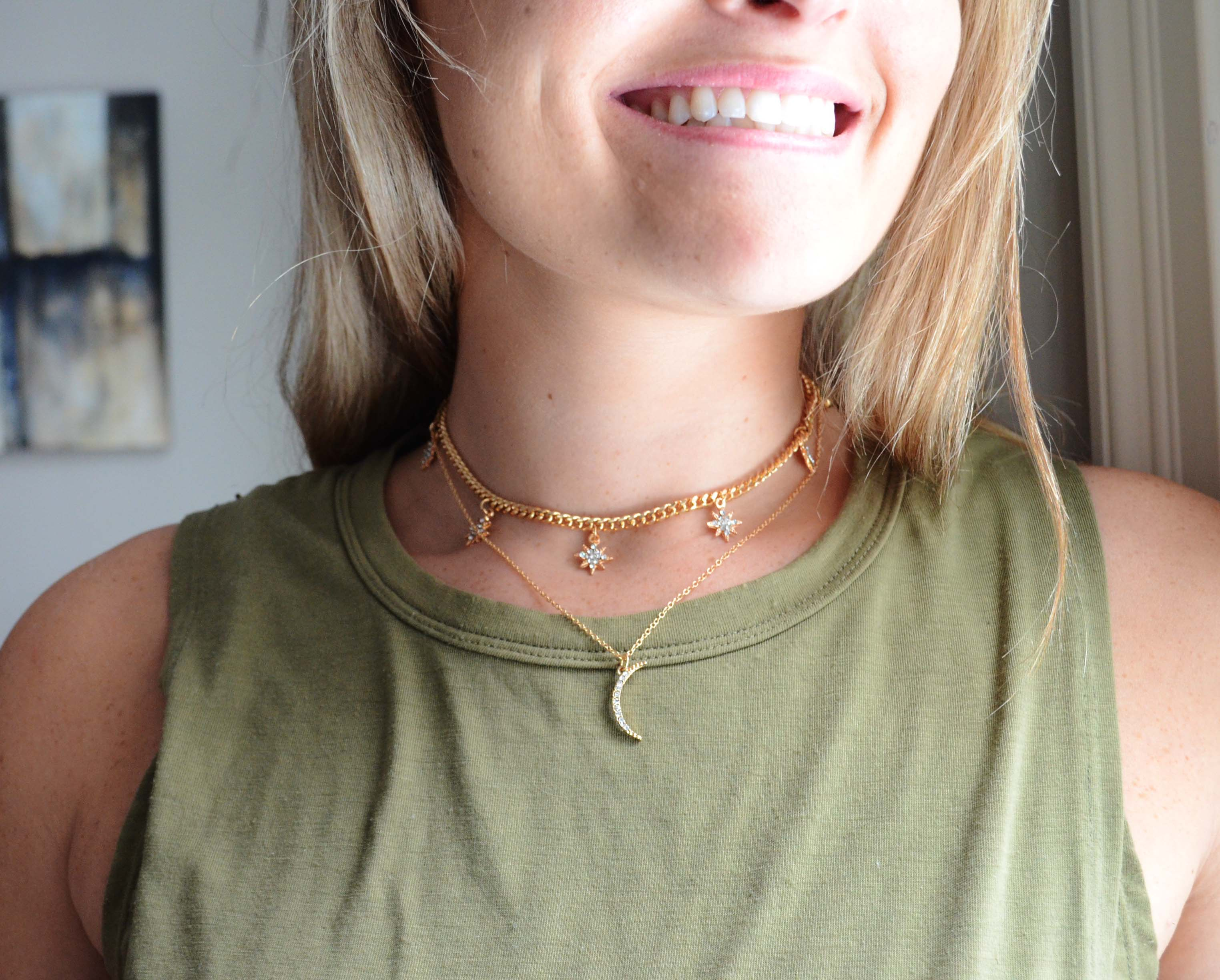 In The Stars 2 Piece Layered Necklace
