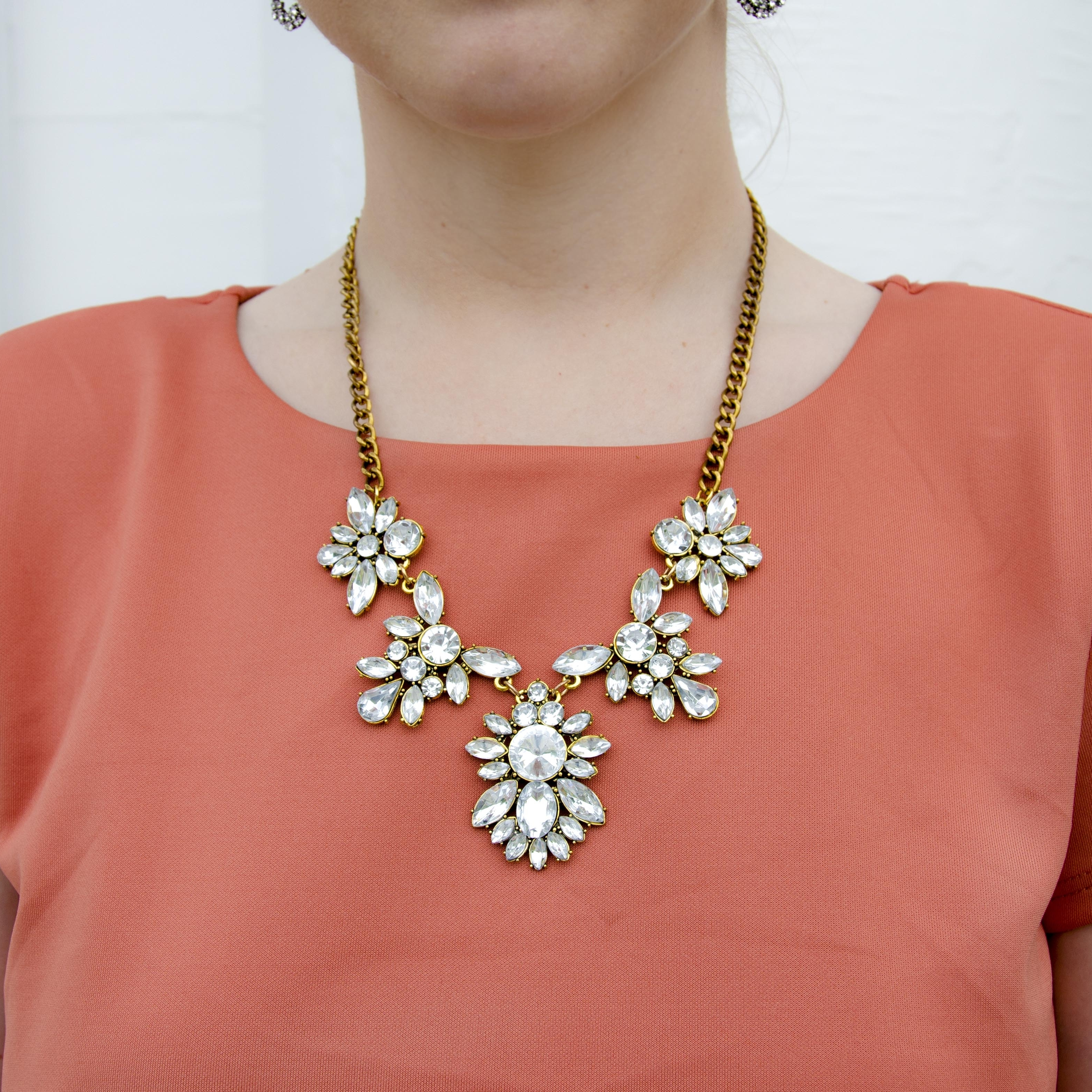 CLICK TO SHOP: Bring on the Bling Special Occasion Necklace
