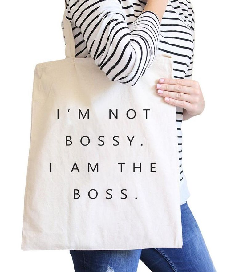 Im Not Bossy I Am The Boss Canvas Bag