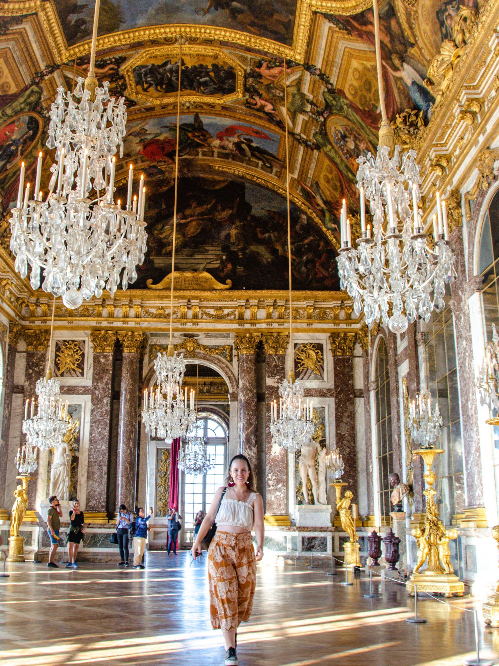 Palace of Versailles, Hall of Mirrors I What to Wear to Paris