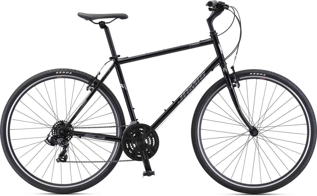 Black Urban Bike