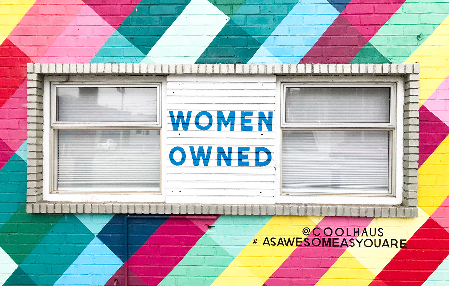 Coolhaus Women Owned sign