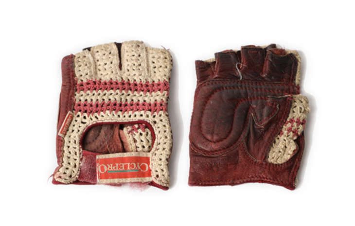 old vintage bike gloves