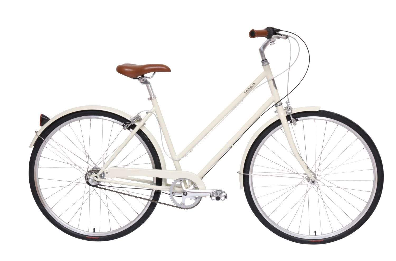 White Urban Bike