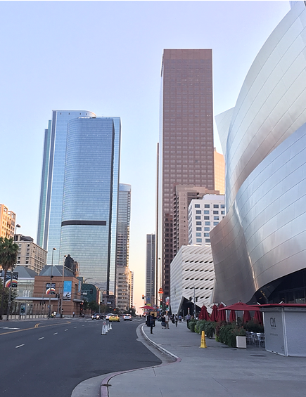 Downtown LA street photo