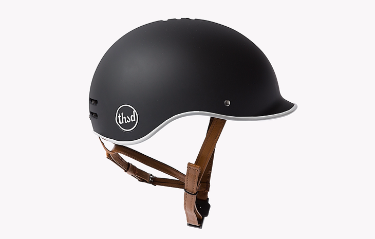 black bike helmet