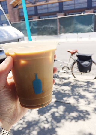 Cup of Blue Bottle Coffee