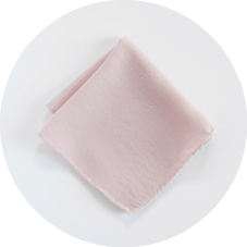 Shop Blush Silk Hankie