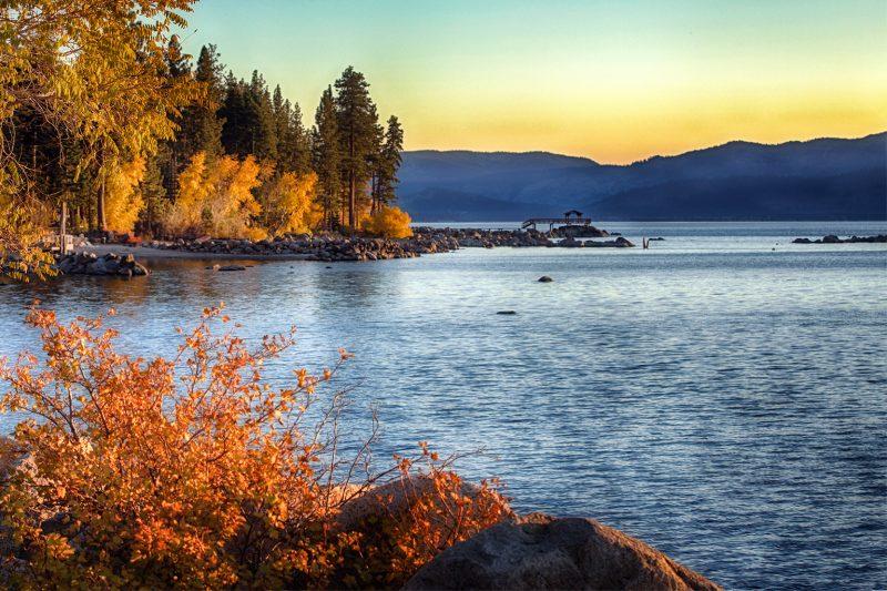 Fall on Lake Tahoe