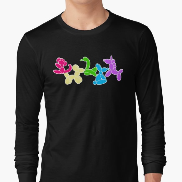Long Sleeve Balloon Animal Shirt