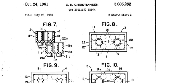 Figures section of a patent application.