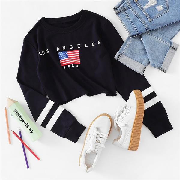 Los Angeles Crop Sweatshirt