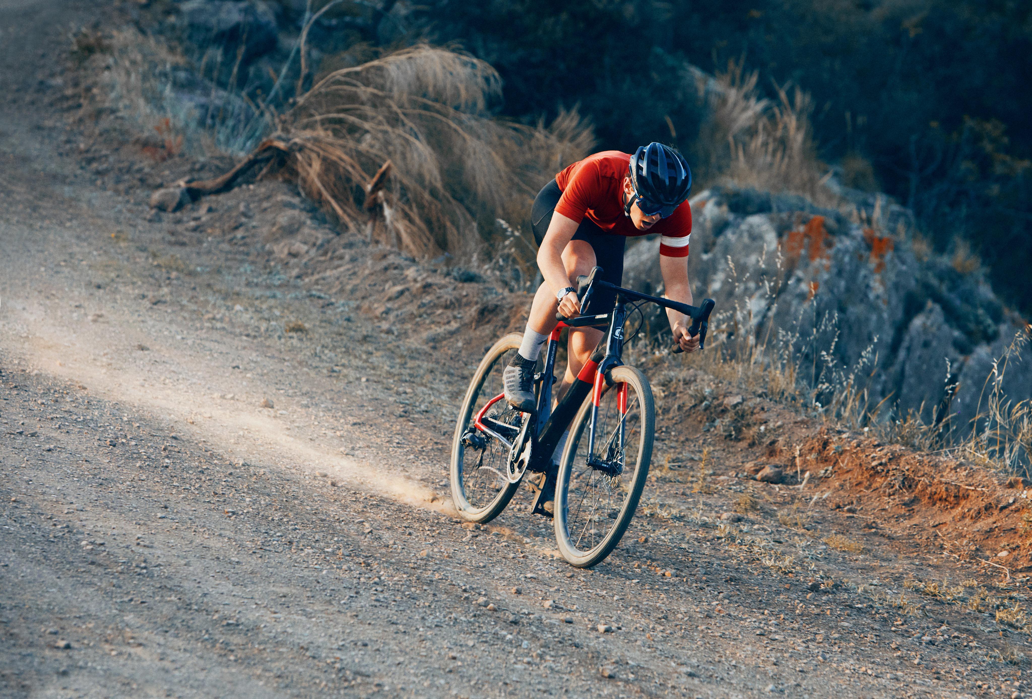 Vélo de route de gravel - le Topstone de Cannondale