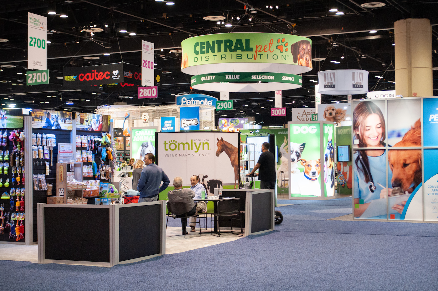Global Pet Expo Exhibition floor