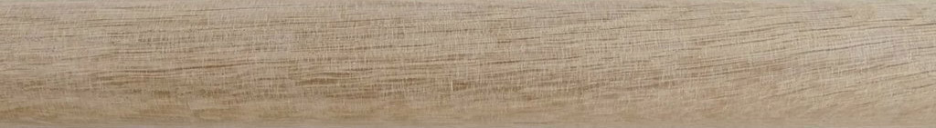50mm diameter clear matt waxed real oak wood - a perfect match for furniture such as wardrobes, bedframes, chest of drawers and tables