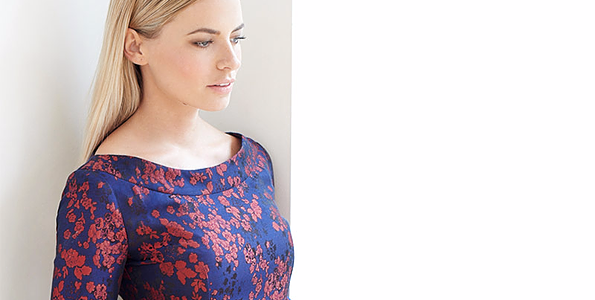 Cecily Caroline - Rosso Midi Dress